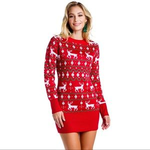 Tipsy Elves oversized Ugly Christmas Sweater